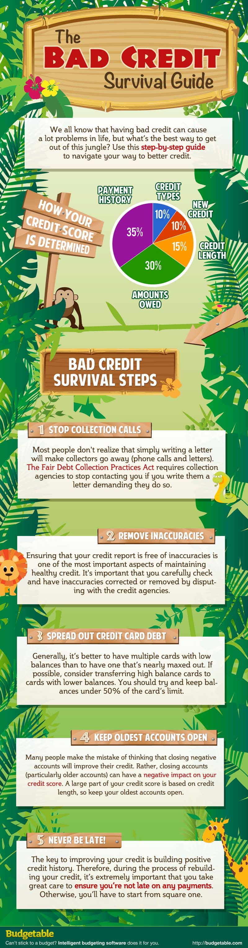 How to survive from bad credit