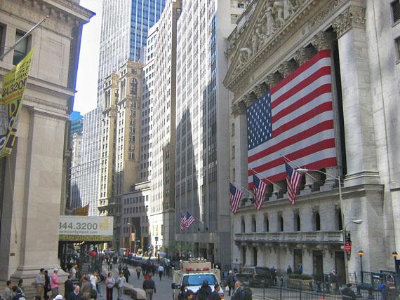Wall Street building