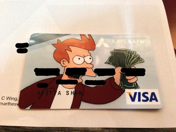 Credit Card Take my money