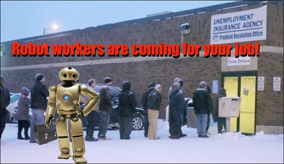 Job loss and Robots