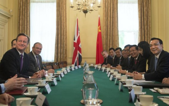 China-UK meetings