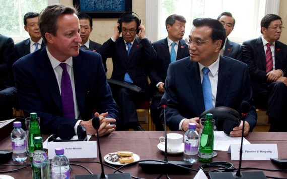 David Cameron-Li Keqiang