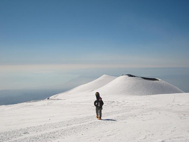 Ski in Etna