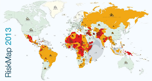 Risk Map 2013