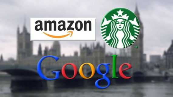 British tax authorities against Amazon, Google and Starbucks