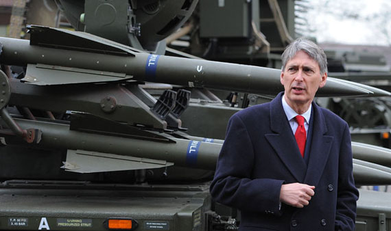 Defense Minister Philip Hammond