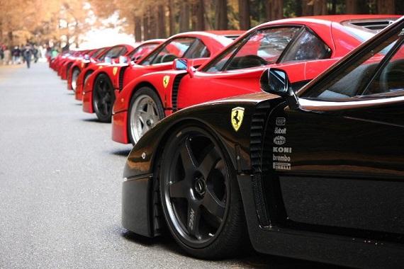 Ferrari in Japan