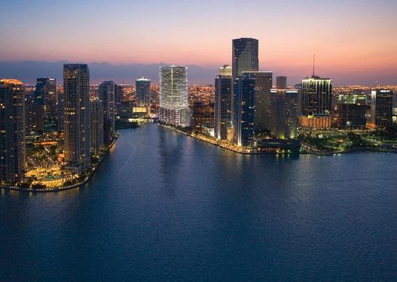 Miami Florida Aerial ViewMiami Florida Aerial View