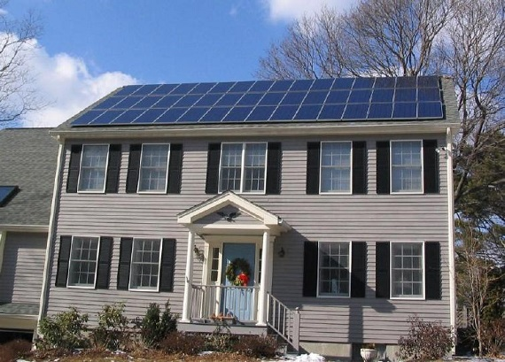 Photovoltaic Panels Active House