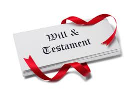 Will testament