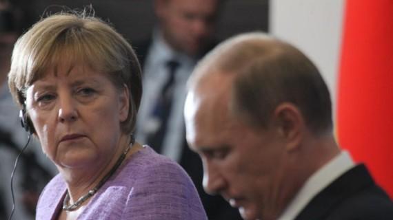 Merkel,Putin